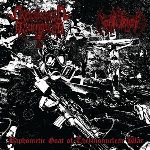 nihil domination + nocturnal damnation - split cover